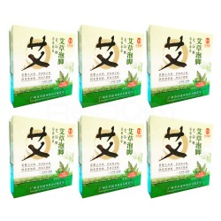 REDQIN Chinese Medicine Herb foot bath powder kits for Foot Reflexology cold blood mugwort wormwood 6packs