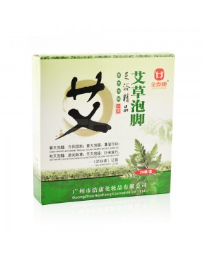 REDQIN Chinese Medicine Herb foot bath powder kits for Foot Reflexology cold blood mugwort wormwood