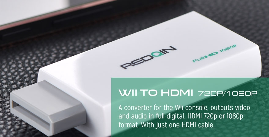 WII to HDMI Converter 720P/1080P