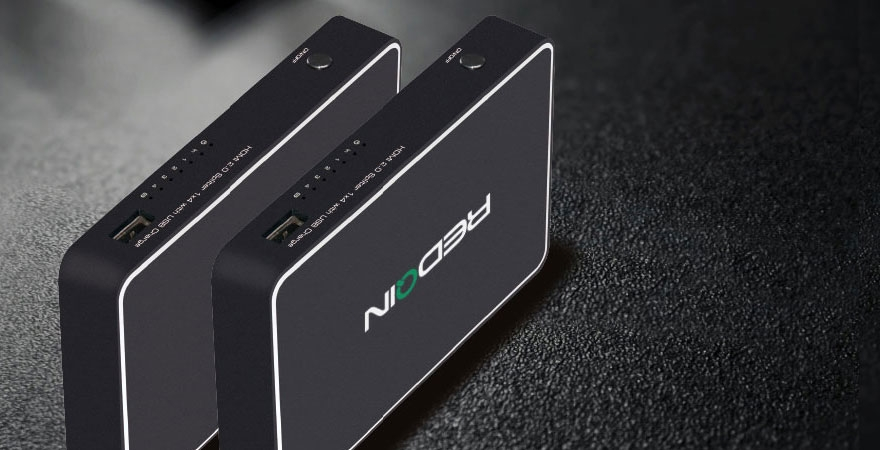 HDMI 2.0 Splitter 1X4 with USB Charge