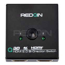 HDMI AB Bi-directional Switch selector box, Supports 4K